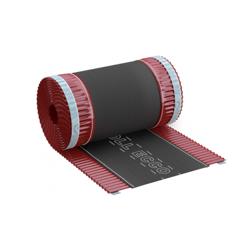 Taśma kalenicowa aluminiowa ROLL ECCO 240mm x 5mb Wiśniowa [RAL 3011]