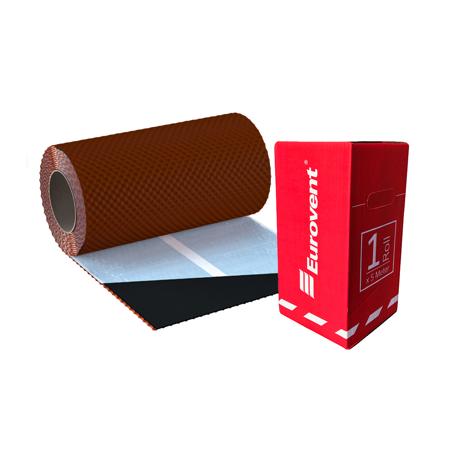 Taśma Kominowa Aluminiowa FLEX 3D 30cm x 5mb Brąz